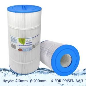 Bilde av Spafilter 100 sq. ft. u/ gjenger, vaskbart (4pk - spar 25%)